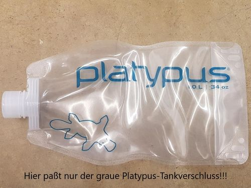 1000 ml Playtpus - Beuteltank
